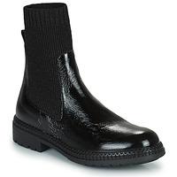 Zapatos Mujer Botas de caña baja Regard CALES Negro