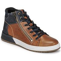 Zapatos Niño Zapatillas bajas Bullboxer AOF506COGN Marrón / Marino