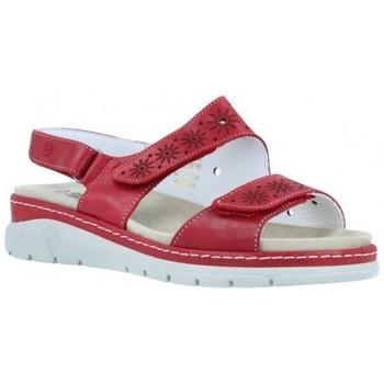 Zapatos Mujer Sandalias Suave Sandalias Cuña Mujer de  3362 Rojo