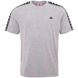 textil Hombre Camisetas manga corta Kappa Ilyas T-Shirt Grise