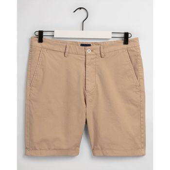 textil Hombre Shorts / Bermudas Gant Pantalones cortos Regular Fit Beige