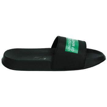 Zapatos Mujer Chanclas United Colors Of Benetton Chanclas de pala NEGRO