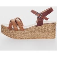 Zapatos Mujer Sandalias Porronet 2731 Marron