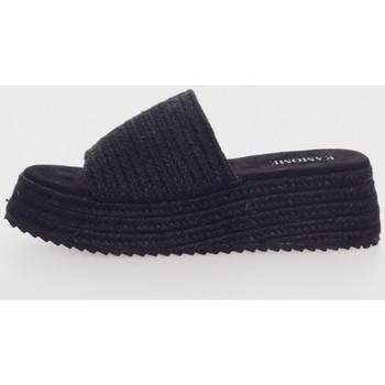 Zapatos Mujer Zuecos (Mules) Kamome C1331 Negro