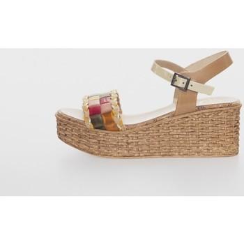 Zapatos Mujer Sandalias Porronet 2729 Beige