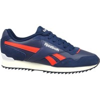Zapatos Hombre Zapatillas bajas Reebok Sport Royal Glide Ripple Clip Rojos, Azul