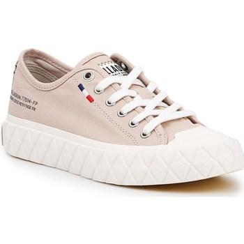 Zapatos Mujer Zapatillas bajas Palladium Manufacture Ace Cvs U Beige