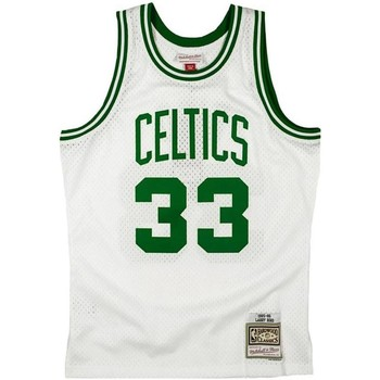 textil Hombre Camisetas sin mangas Mitchell And Ness SMJYGS18141-BCEWHIT8 Blanco