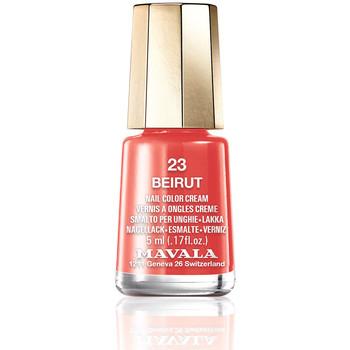 Belleza Mujer Esmalte para uñas Mavala Nail Color 23-beirut  5 ml