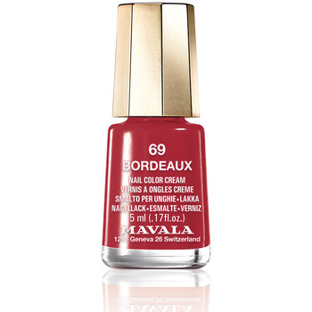 Belleza Mujer Esmalte para uñas Mavala Nail Color 69-bordeaux  5 ml
