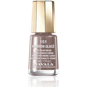 Belleza Mujer Esmalte para uñas Mavala Nail Color 151-marron Glace  5 ml