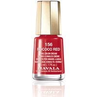 Belleza Mujer Esmalte para uñas Mavala Nail Color 156-rococo Red  5 ml