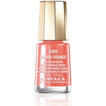 Belleza Mujer Esmalte para uñas Mavala Nail Color 169-waikiki Orange  5 ml