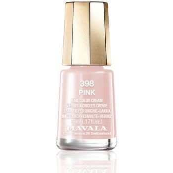 Belleza Mujer Esmalte para uñas Mavala Nail Color 398-pink  5 ml