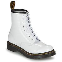 Zapatos Mujer Botas de caña baja Dr Martens 1460 W Blanco