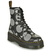 Zapatos Mujer Botas de caña baja Dr Martens JADON Blanco / Gris
