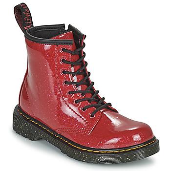 Zapatos Niña Botas de caña baja Dr Martens 1460 J Rojo