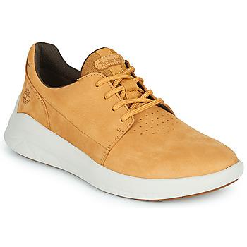 Zapatos Hombre Zapatillas bajas Timberland BRADSTREET ULTRA LTHR OX Beige