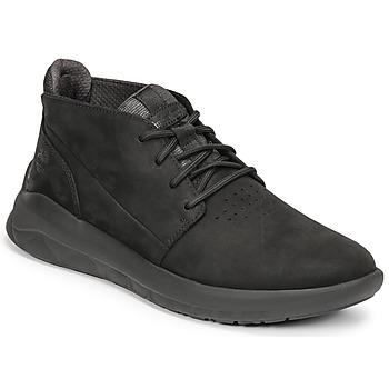 Zapatos Hombre Zapatillas altas Timberland BRADSTREET ULTRA PT CHK Negro