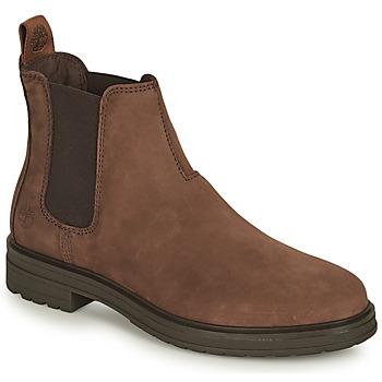 Zapatos Mujer Botas de caña baja Timberland HANNOVER HILL CHELSEA Marrón
