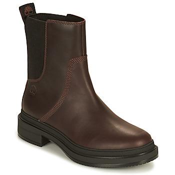 Zapatos Mujer Botas de caña baja Timberland LISBON LANE CHELSEA Marrón