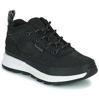 Zapatos Niños Zapatillas altas Timberland FIELD TREKKER LOW Negro