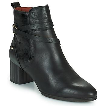 Zapatos Mujer Botines Pikolinos CALAFAT Negro