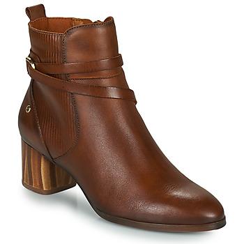 Zapatos Mujer Botines Pikolinos CALAFAT Marrón