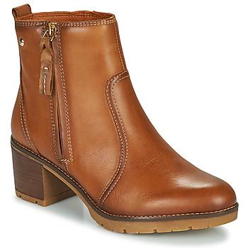 Zapatos Mujer Botines Pikolinos LLANES Marrón