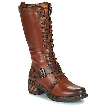 Zapatos Mujer Botas urbanas Pikolinos SAN SEBASTIA Marrón