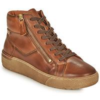 Zapatos Mujer Zapatillas altas Pikolinos VITORIA Marrón