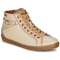 Zapatos Mujer Zapatillas altas Pikolinos LAGOS Beige