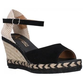 Zapatos Mujer Sandalias Paseart ADN-s A383 negro Mujer Negro noir