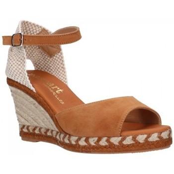 Zapatos Mujer Sandalias Paseart ADN-s A383 coñac Mujer Cuero marron