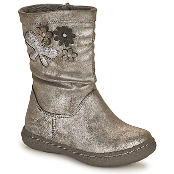Zapatos Niña Botas urbanas Chicco CAROL Plata