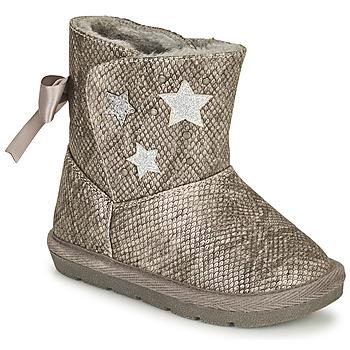 Zapatos Niña Botas urbanas Chicco CLOVY Plata