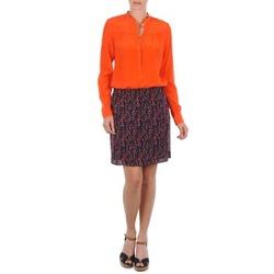 textil Mujer Faldas Marc O'Polo AURELIA Marino / Rojo