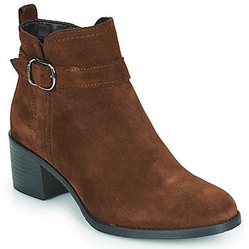 Zapatos Mujer Botines Tamaris OFFICIE Marrón
