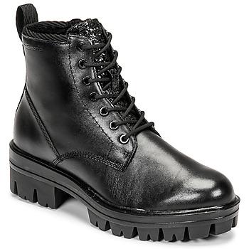 Zapatos Mujer Botas de caña baja Tamaris HOULI Negro
