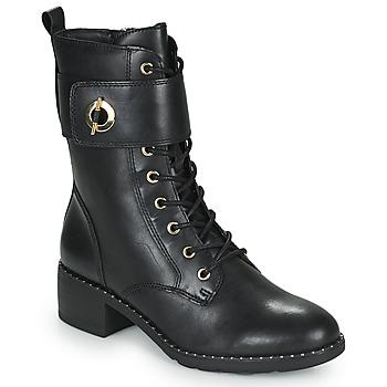 Zapatos Mujer Botines Tamaris SEEDRE Negro / Oro