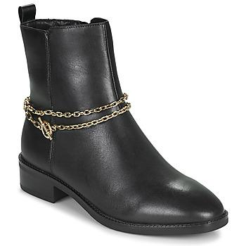 Zapatos Mujer Botas de caña baja Tamaris THOMA Negro / Oro
