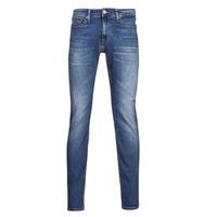 textil Hombre Vaqueros slim Tommy Jeans SCANTON SLIM AE136 MBS Azul / Medium