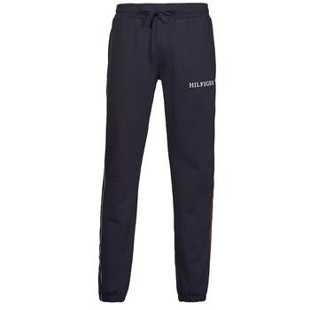 textil Hombre Pantalones de chándal Tommy Hilfiger TAPED HILFIGER SWEATPANTS Marino