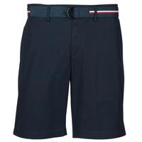 textil Hombre Shorts / Bermudas Tommy Hilfiger BROOKLYN LIGHT TWILL Marino