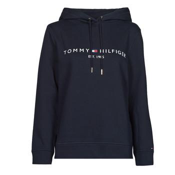 textil Mujer Sudaderas Tommy Hilfiger HERITAGE HILFIGER HOODIE LS Azul
