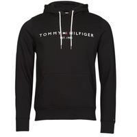 textil Hombre Sudaderas Tommy Hilfiger TOMMY LOGO HOODY Negro