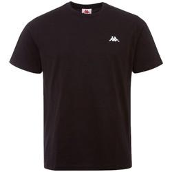 textil Hombre Camisetas manga corta Kappa Iljamor T-Shirt Noir