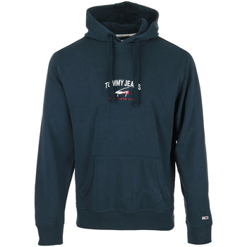 textil Hombre Sudaderas Tommy Hilfiger Timeless Tommy Hoodie Azul