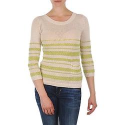 textil Mujer jerséis Marc O'Polo ESTER Blanco / Amarillo