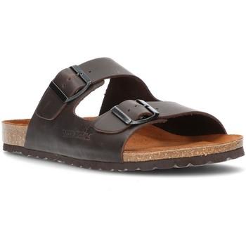 Zapatos Hombre Zuecos (Mules) Interbios 9560 MOKA